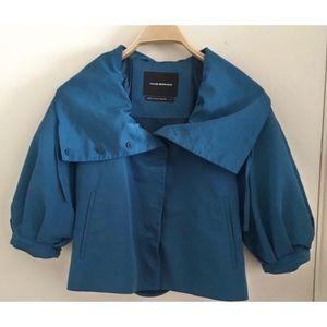 CLUB MONACO | Short Trench Coat w/Puffed Sleeves